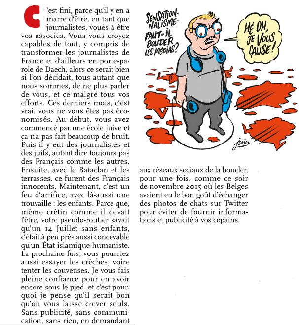 Charlie-Hebdo - 13 11 2015 - Bruxelles - Nice - Page 41 Charli10