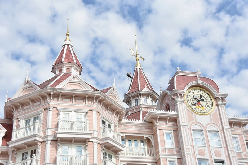 Disneyland® Hotel - lavori di restauro 00021