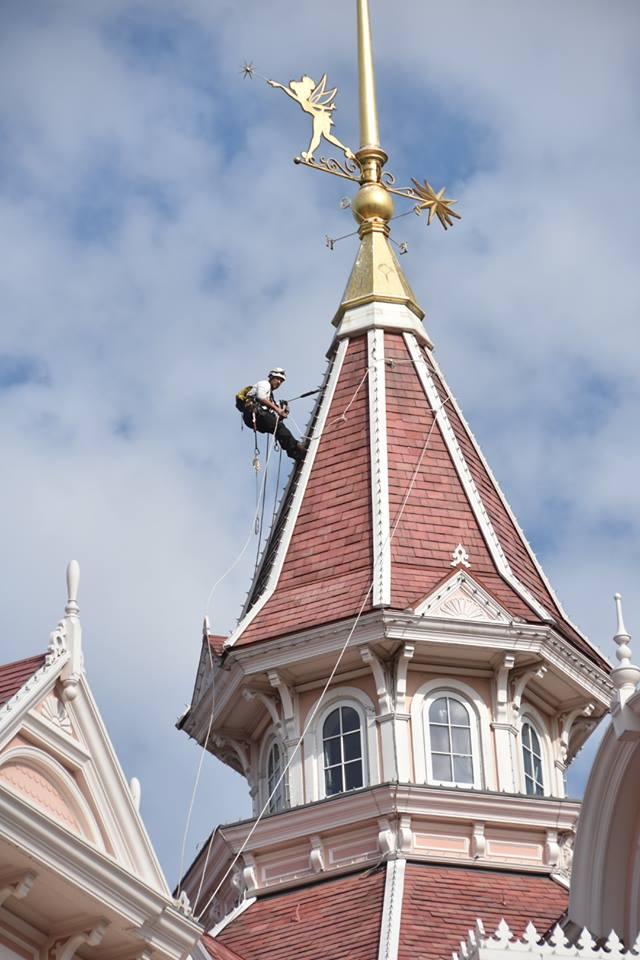 Disneyland® Hotel - lavori di restauro 00137