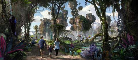 Avatar Land - Novità 2017 Animal Kingdom 00318