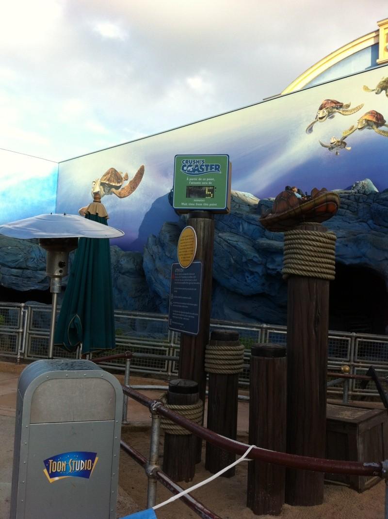 Heures de magie en plus au Parc Walt Disney Studios à la place du Parc Disneyland Img_2110