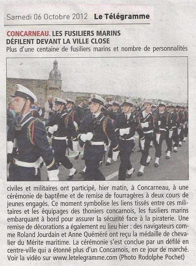 Reportage cérémonie de tradition Ecole des fusiliers à Concarneau Scan0137