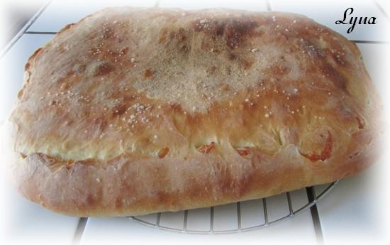 Focaccia au fromage et prosciutto Foccac15