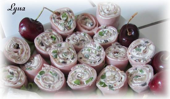 Rouleaux de jambon forestier Roulea12