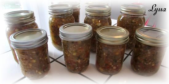 Salsa de tomatillos et tomates Salsa610