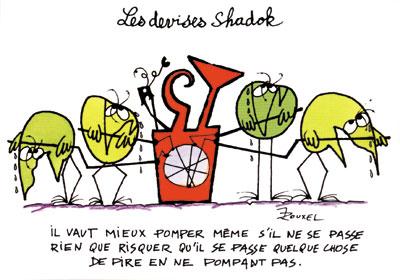 a la tele Le retour en grande pompe des Shadoks  Shadok10
