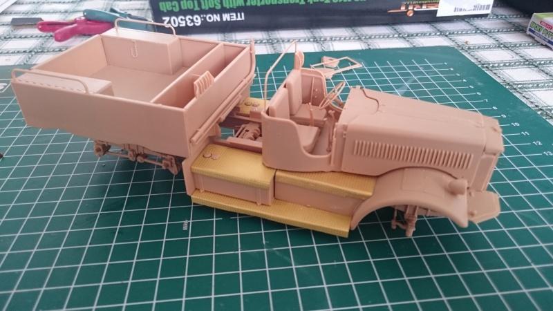 super lourd au 1/35 M 19 tank transporter soft cab Merit kits  - Page 3 M19_1110