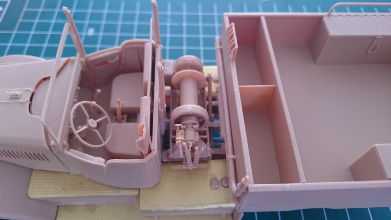 super lourd au 1/35 M 19 tank transporter soft cab Merit kits  - Page 3 M19_1210