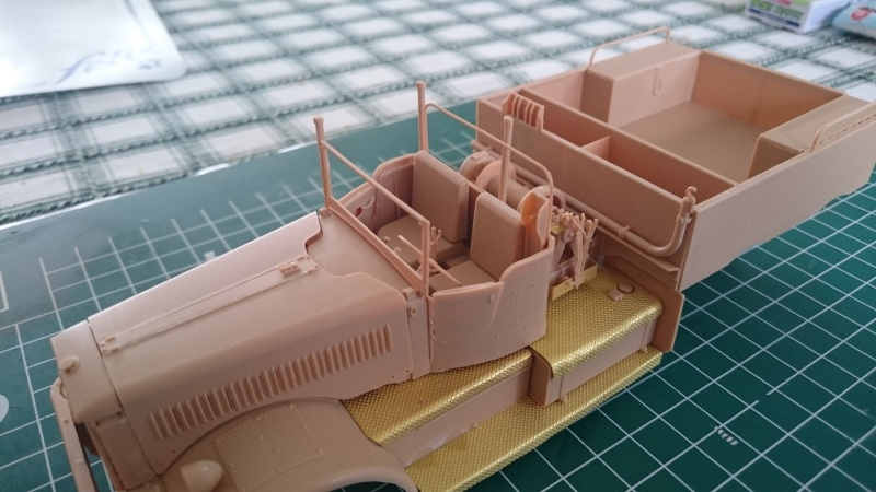 super lourd au 1/35 M 19 tank transporter soft cab Merit kits  - Page 3 M19_1310