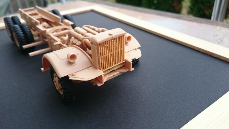 super lourd au 1/35 M 19 tank transporter soft cab Merit kits  - Page 2 M19_410