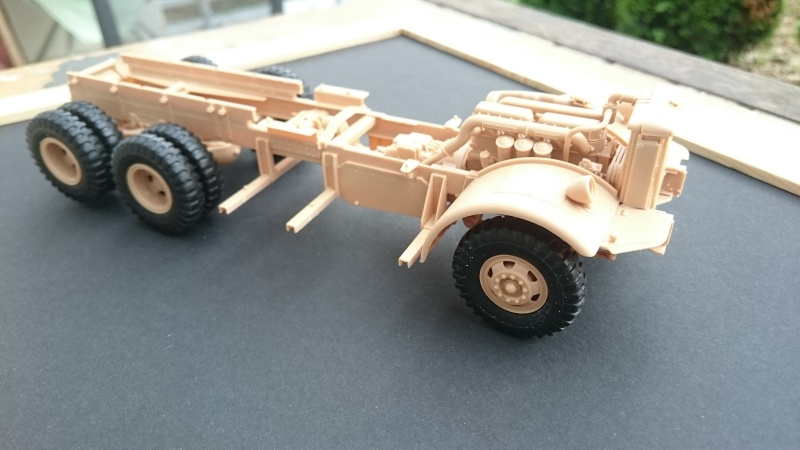 super lourd au 1/35 M 19 tank transporter soft cab Merit kits  - Page 2 M19_510
