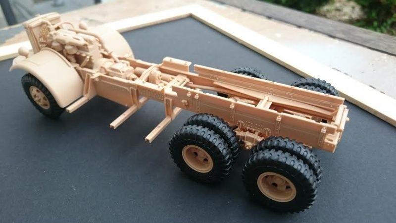 super lourd au 1/35 M 19 tank transporter soft cab Merit kits  - Page 2 M19_610