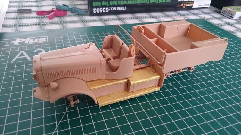 super lourd au 1/35 M 19 tank transporter soft cab Merit kits  - Page 3 M19_910
