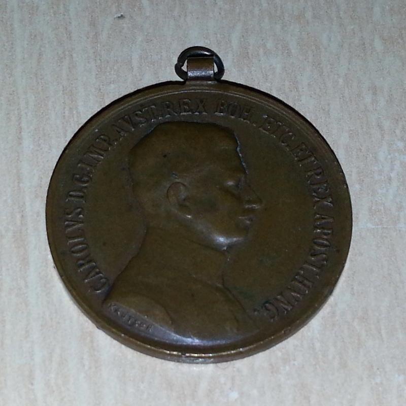 médaille hongroise 1916 1a10