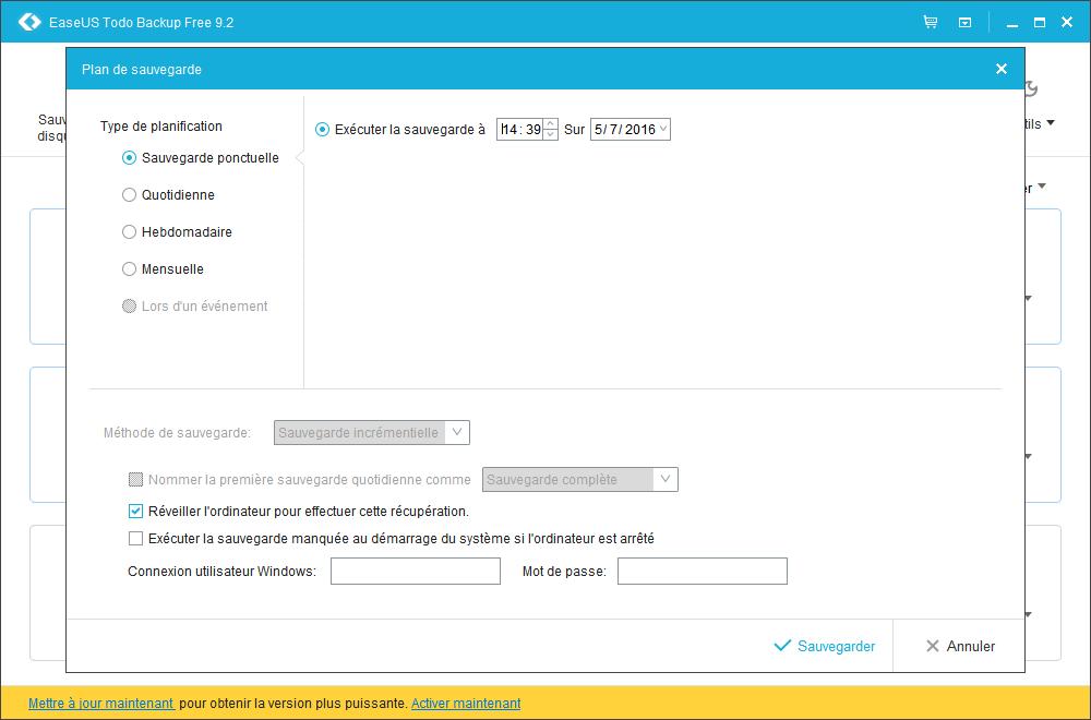 Easeus ToDo Backup Free : sauvegarder ses données importantes Planif11