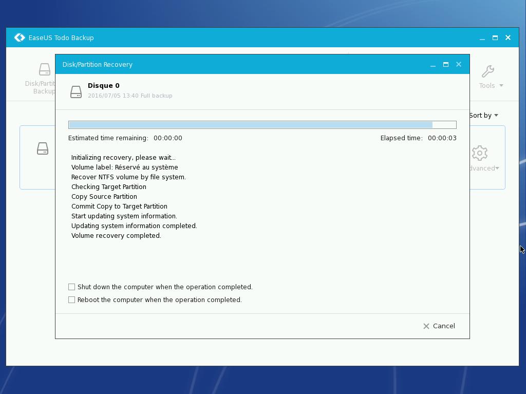 Easeus ToDo Backup Free : sauvegarder ses données importantes Preos_18