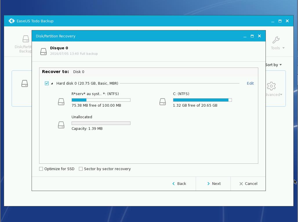 Easeus ToDo Backup Free : sauvegarder ses données importantes Preos_20