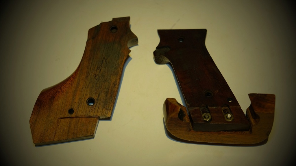 Used Randall Fung RH Large Grips for 1911 - Sold Dscf5811