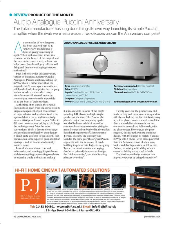 Recensione Integrato Audio-Analogue Puccini Anniversary su AUDIO-REVIEW - Pagina 9 Listen12