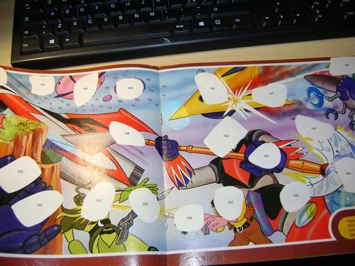 ALBUM ATLAS UFO ROBOT GOLDRAKE NUOVA SERIE edizioni EDIERRE INCOMPLETO  Edierr13