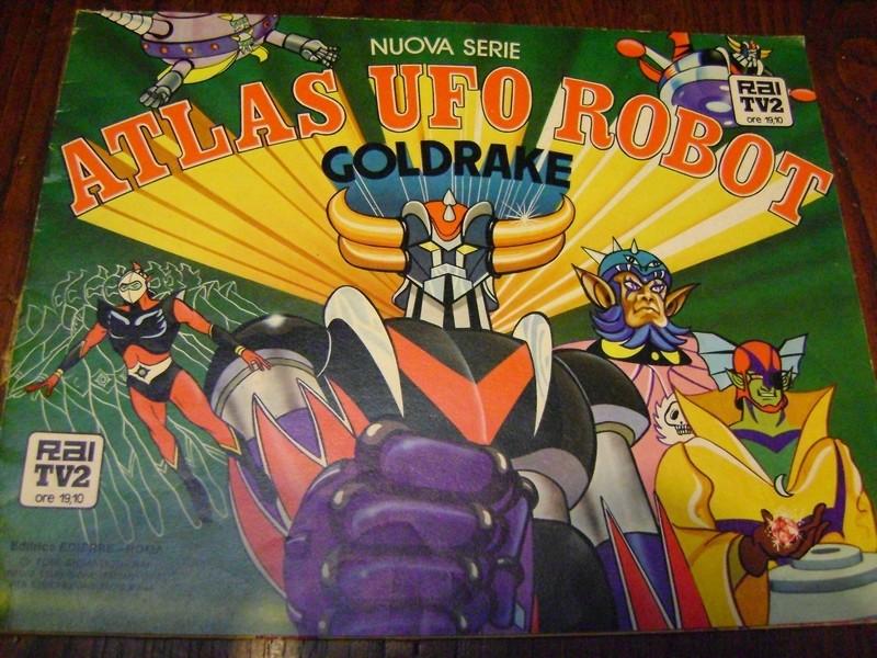 ALBUM ATLAS UFO ROBOT GOLDRAKE NUOVA SERIE edizioni EDIERRE INCOMPLETO  Edierr18