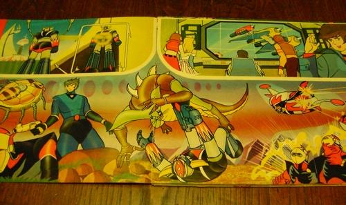 robot - ALBUM SUPER GOLDRAKE SUPERGOLDRAKE - ATLAS UFO ROBOT edizioni EDIERRE INCOMPLETO ma MOLTO BUONO/  OTTIMO Edierr19