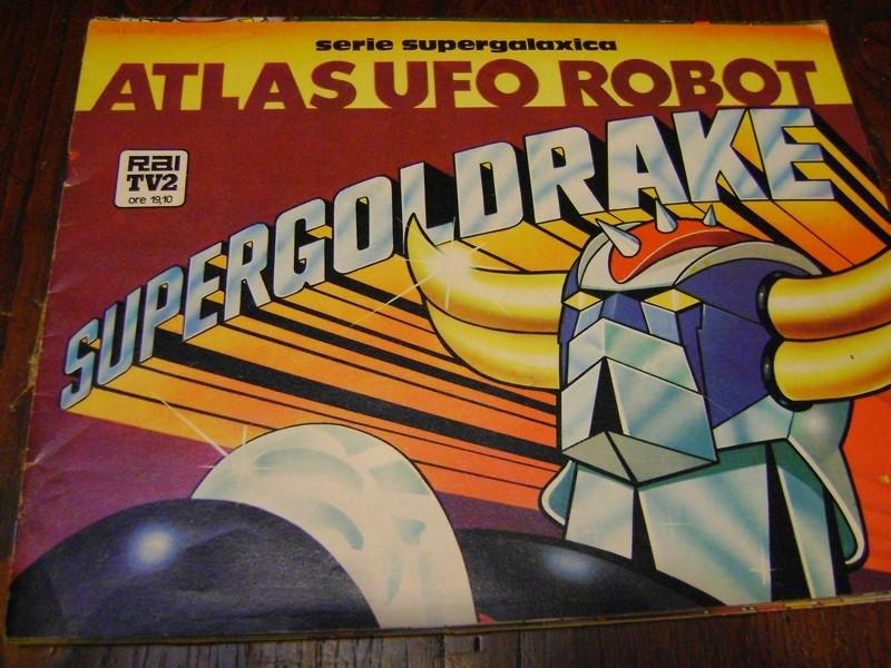 robot - ALBUM SUPER GOLDRAKE SUPERGOLDRAKE - ATLAS UFO ROBOT edizioni EDIERRE INCOMPLETO ma MOLTO BUONO/  OTTIMO Edierr23