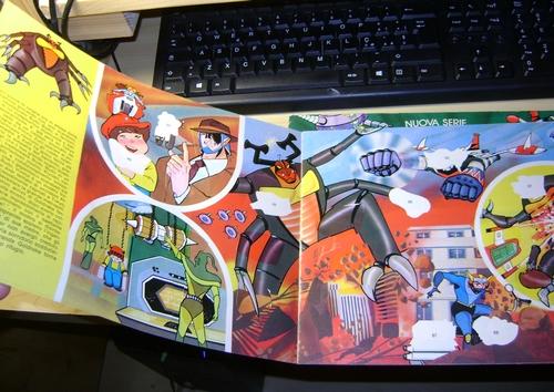 robot - ALBUM SUPER GOLDRAKE SUPERGOLDRAKE - ATLAS UFO ROBOT edizioni EDIERRE INCOMPLETO ma MOLTO BUONO/  OTTIMO Edierr24