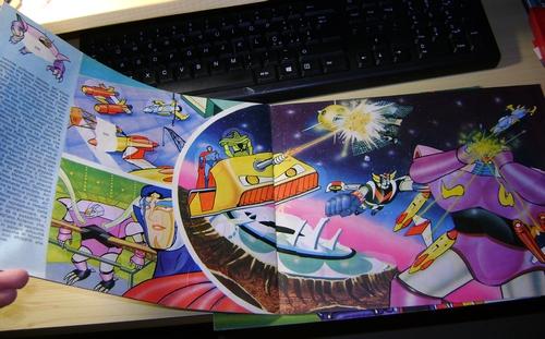robot - ALBUM SUPER GOLDRAKE SUPERGOLDRAKE - ATLAS UFO ROBOT edizioni EDIERRE INCOMPLETO ma MOLTO BUONO/  OTTIMO Edierr25