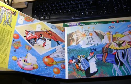 robot - ALBUM SUPER GOLDRAKE SUPERGOLDRAKE - ATLAS UFO ROBOT edizioni EDIERRE INCOMPLETO ma MOLTO BUONO/  OTTIMO Edierr28