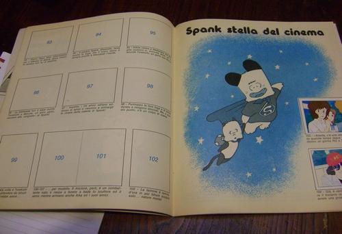 ALBUM HELLO SPANK edizioni PANINI INCOMPLETO  Hello_10