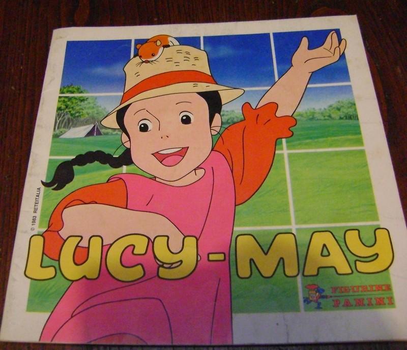 ALBUM LUCY MAI MAY MEI edizioni PANINI VUOTO  Lucy_m10
