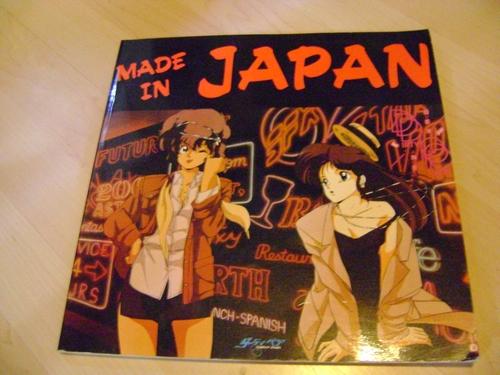 LIBRI VINTAGE FINE ANNI '90 ANIMAZIONE & MANGA GIAPPONESE ; AMINATION KINGDOM - MADE IN JAPAN - IL MONDO DEI MANGA Madein11