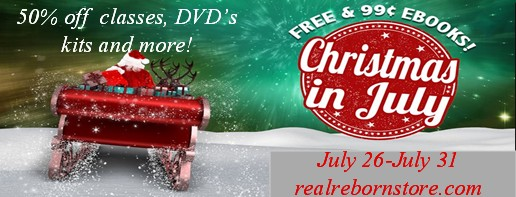 Christmas in July Sale on REAL  Christ10