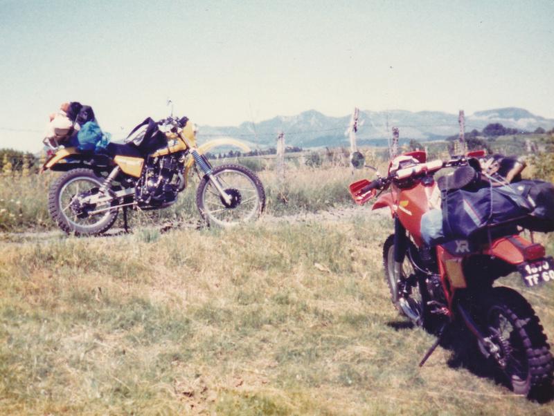 NOSTALGIE : periples en trail  Dr_xr210