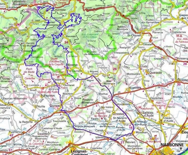 randonnée trail au nord de Lezignan Corbière 7 aout 2013 Rando610