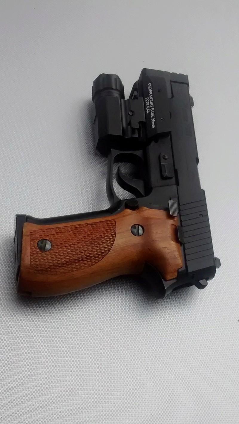 le P226 de la mort qui tue ^^ - A new custom ! Img_2031
