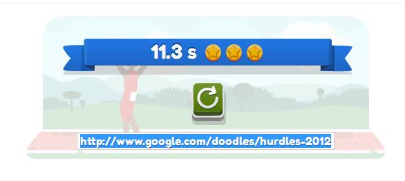 Petit jeux Google sur sa page d'accueil Score210