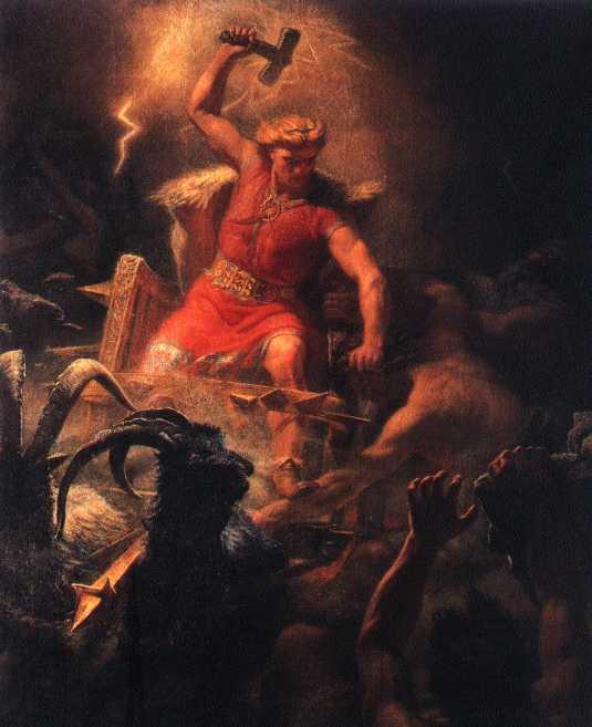 [Mythologie] Le Mjöllnir (Le marteau de Thor). Thor2010