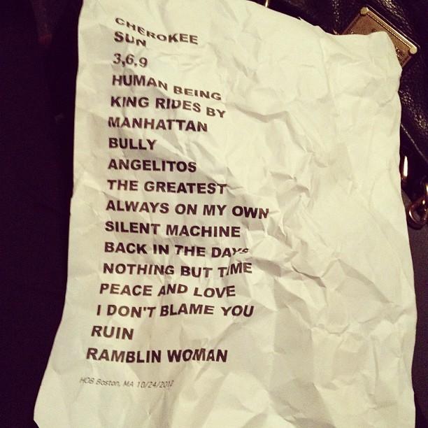 10/24/12 - Boston, MA, House Of Blues 4e599010
