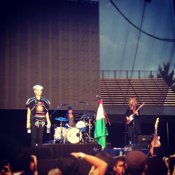 "10/13/12 – Mexico City, Mexico, Autodromo Hermanos Rodriguez, ""Corona Capital Music Festival"" Minife10"