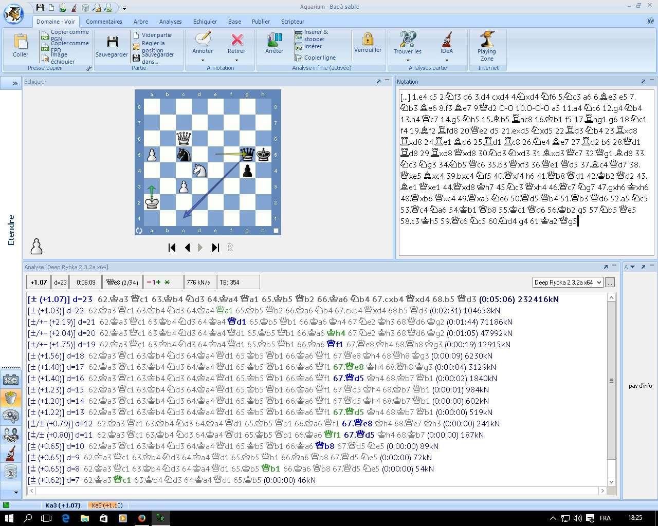 Différence d'analyse entre le varan et la morue Ry19310