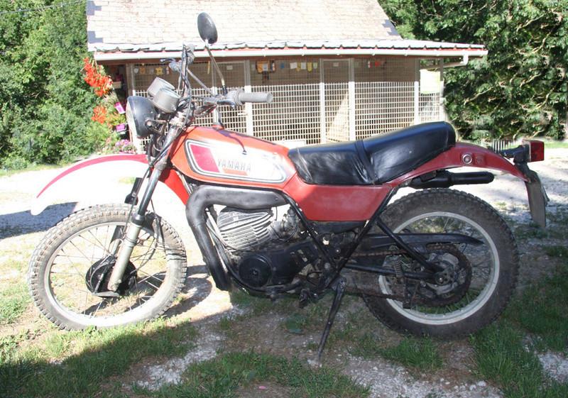 DTMX250  ressortie de garage 250_ga11