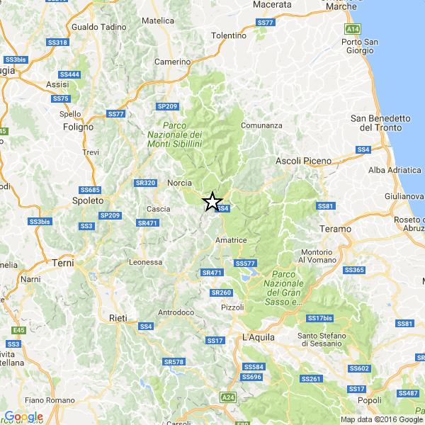 Monitoraggio terremoti italiani e nel Mondo Single10