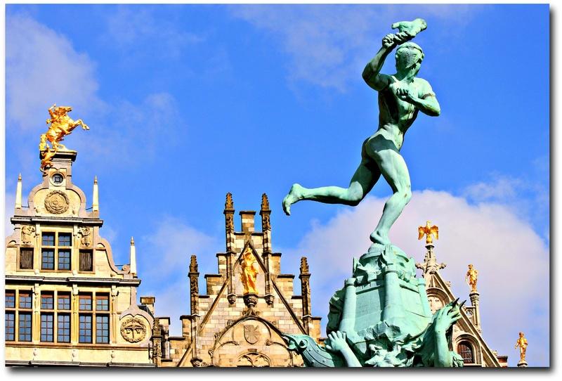 La terrible histoire de la fontaine Brado et des mains d'Anvers en Belgisue !! 68248110