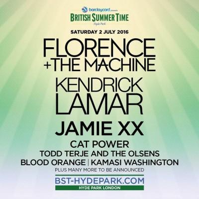 "7/2/16 - ""British Summer Time 2016"", London, England, Hyde Park, Rangers Lodge 111"