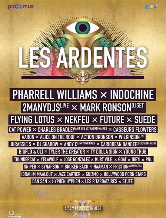 """7/9/16 - """"Festival Les Ardentes"""", Liège, Belgium, Parc Astrid de Coronmeuse 114"""