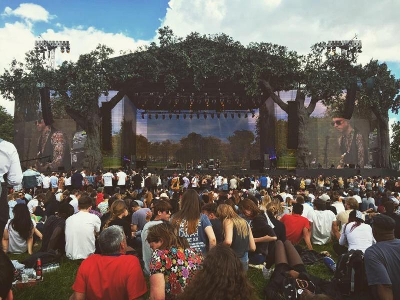 "7/2/16 - ""British Summer Time 2016"", London, England, Hyde Park, Rangers Lodge 311"