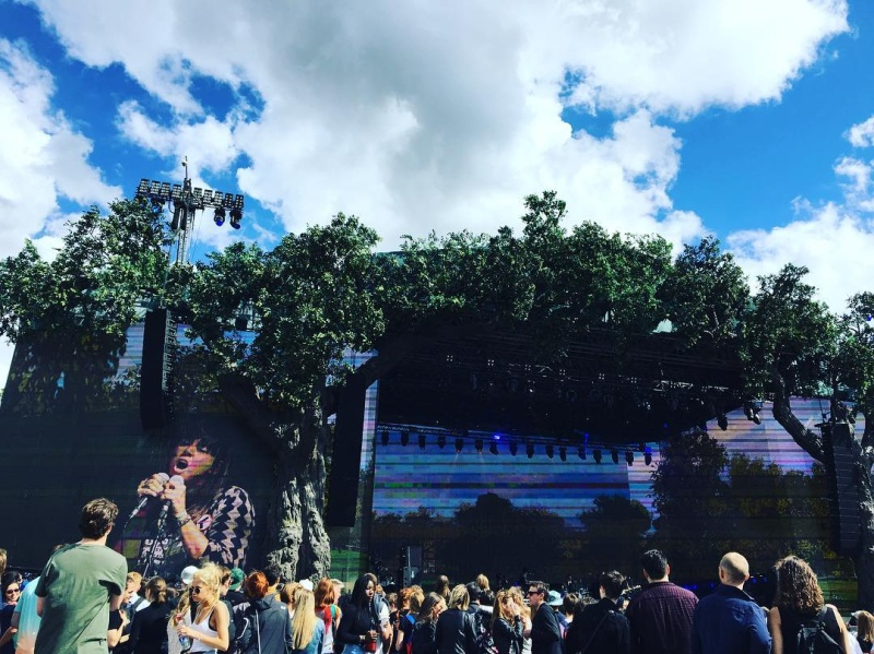 "7/2/16 - ""British Summer Time 2016"", London, England, Hyde Park, Rangers Lodge 411"