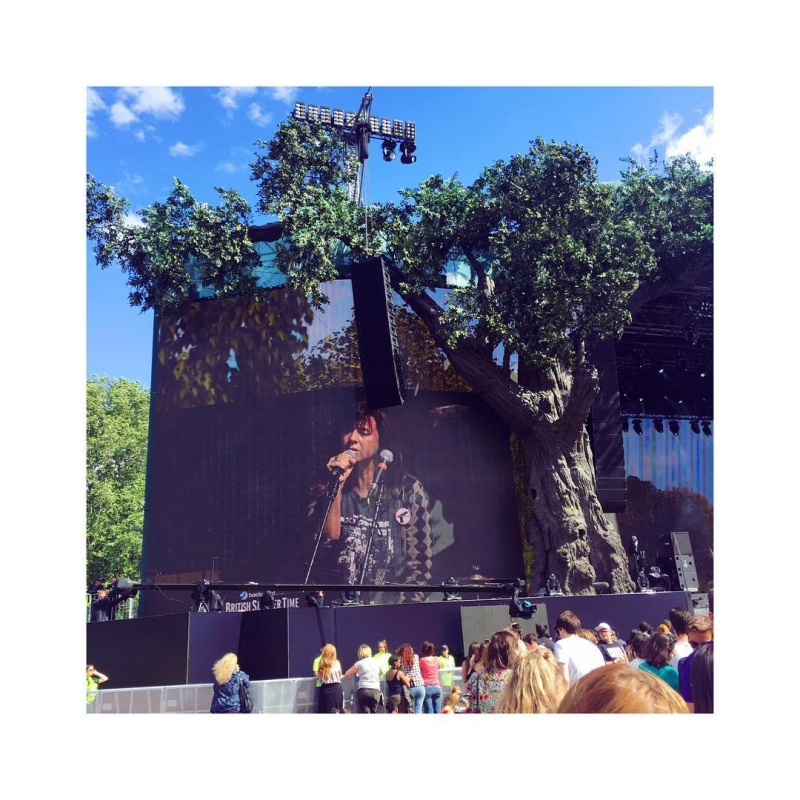"7/2/16 - ""British Summer Time 2016"", London, England, Hyde Park, Rangers Lodge 911"